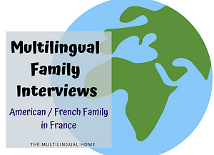 American French Family in France
