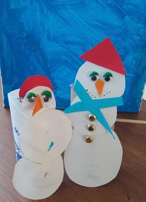 Snowmen Winter Craft