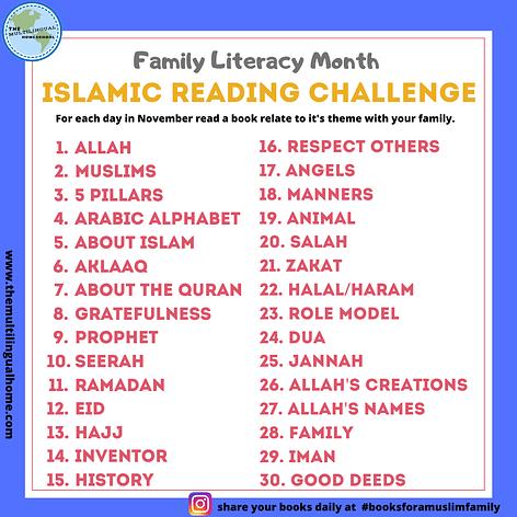 Islamic Reading Challenge