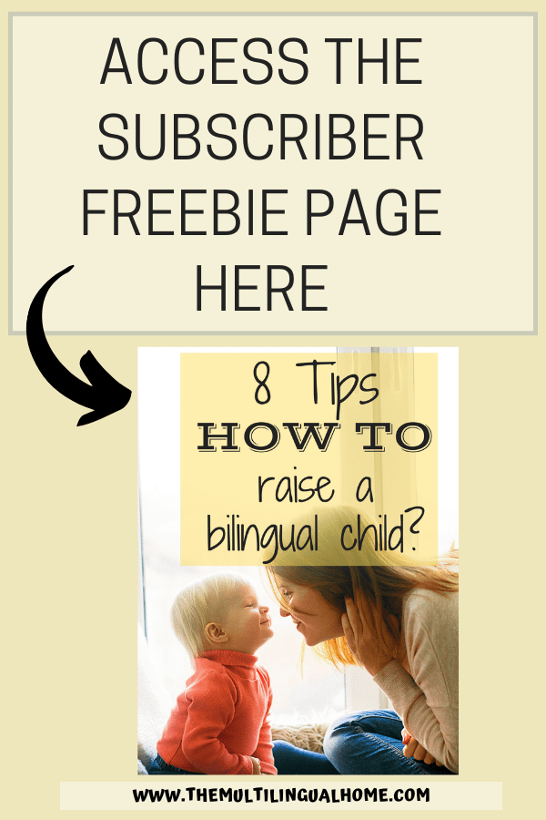 Subscriber Freebie Page